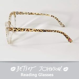 3282a42925a3 Betsey Johnson Accessories - Betsey Johnson Reading Glasses Wild Print +2.00
